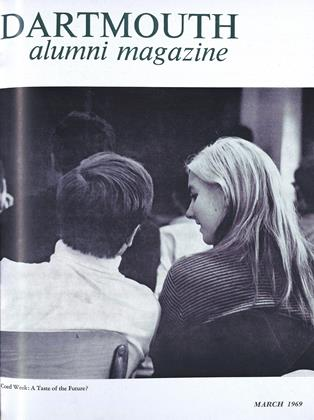Cover for the March 1969 issue
