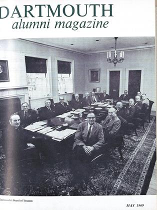 Cover for the May 1969 issue