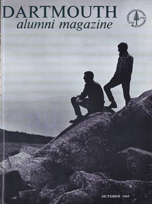 Cover for the October 1969 issue
