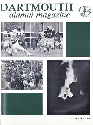 Cover for the November 1969 issue
