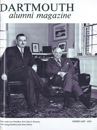 Cover for the February 1970 issue
