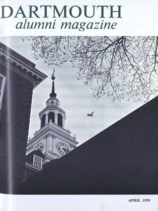 Cover for the April 1970 issue