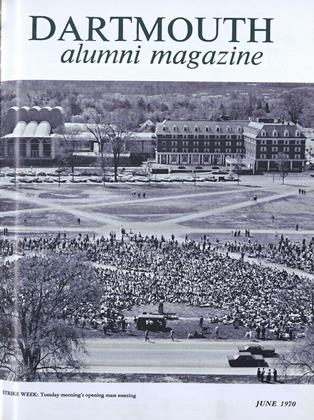 Cover for the June 1970 issue