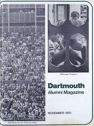 Cover for the November 1970 issue