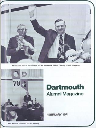Cover for the February 1971 issue