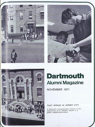 Cover for the November 1971 issue