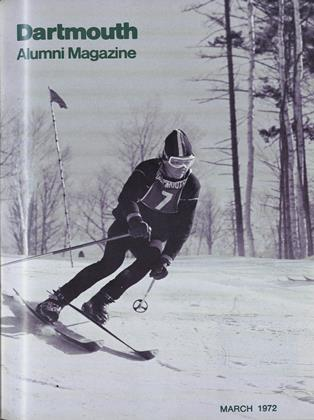 Cover for the March 1972 issue