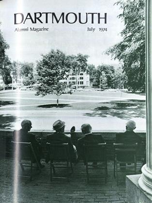 Cover for the July 1974 issue