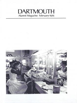 Cover for the February 1976 issue