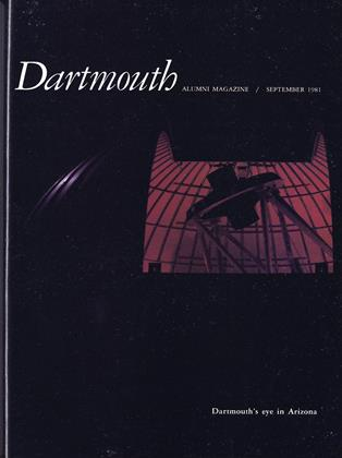 Cover for the September 1981 issue