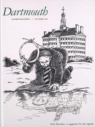 Cover for the October 1981 issue