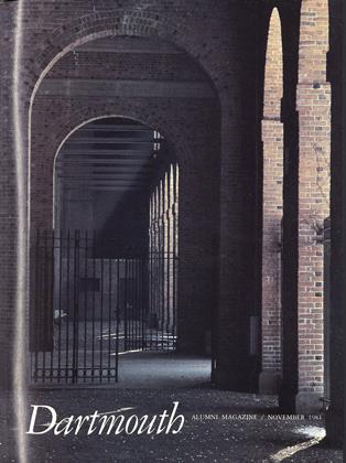 Cover for the November 1981 issue