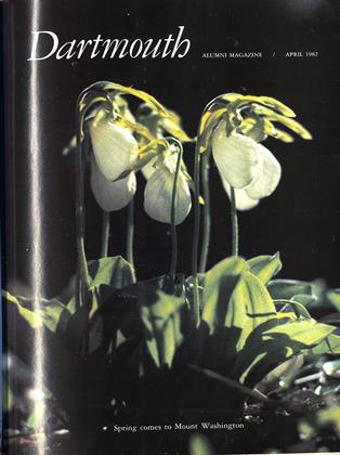 Cover for the April 1982 issue
