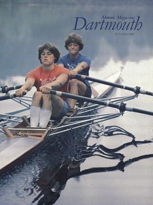 Cover for the October 1984 issue