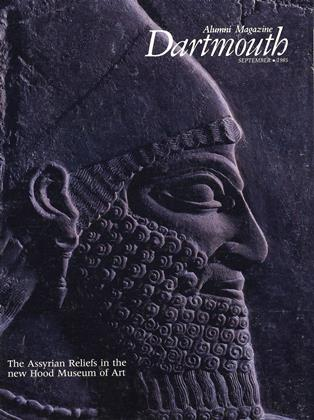 Cover for the September 1985 issue