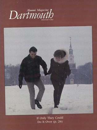 Cover for the Winter 1987 issue