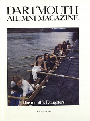 Cover for the November 1988 issue
