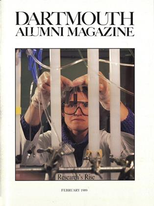 Cover for the February 1989 issue