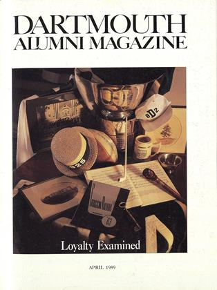 Cover for the April 1989 issue