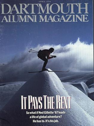 Cover for the April 1990 issue