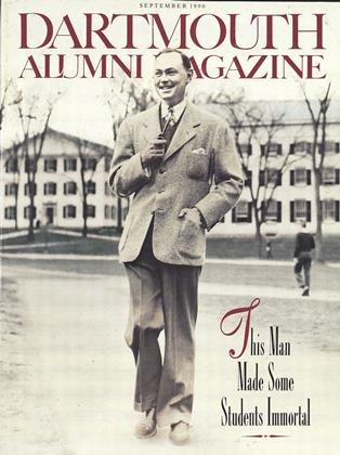 Cover for the September 1990 issue