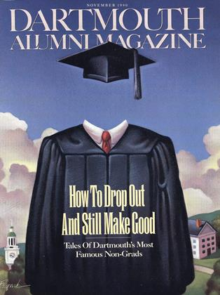 Cover for the November 1990 issue