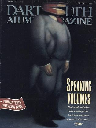 Cover for the June 1991 issue