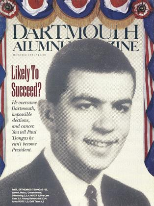 Cover for the October 1991 issue