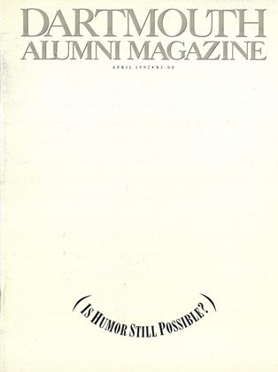 Cover for the April 1992 issue