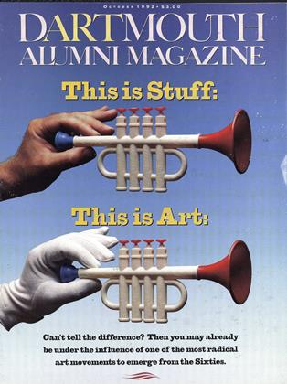 Cover for the October 1992 issue