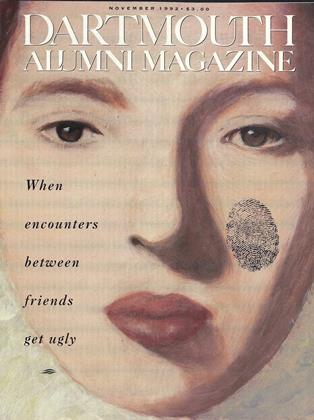 Cover for the November 1992 issue