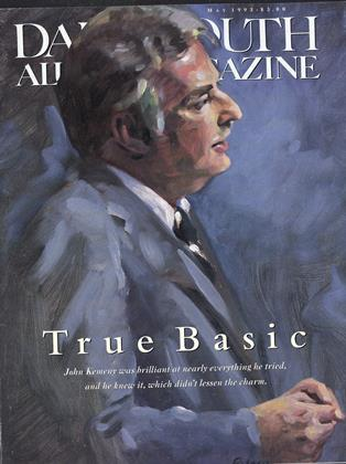 Cover for the May 1993 issue