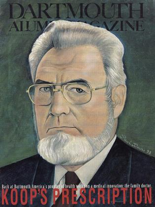 Cover for the November 1993 issue