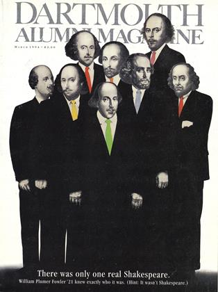 Cover for the March 1994 issue