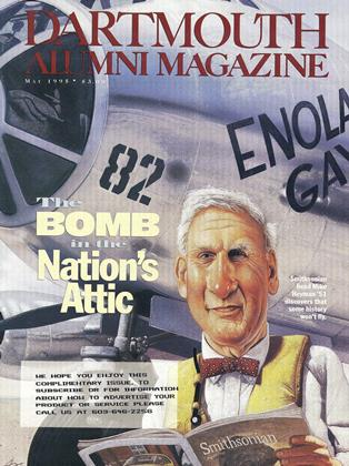 Cover for the May 1995 issue