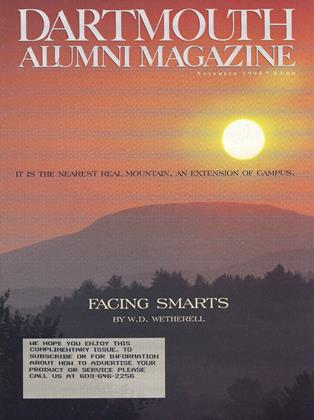 Cover for the November 1995 issue