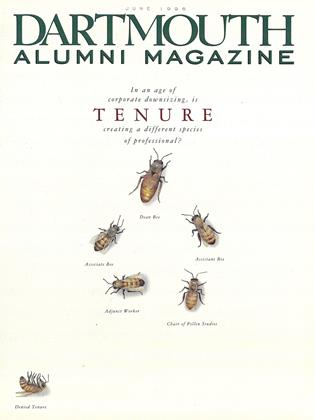 Cover for the June 1996 issue