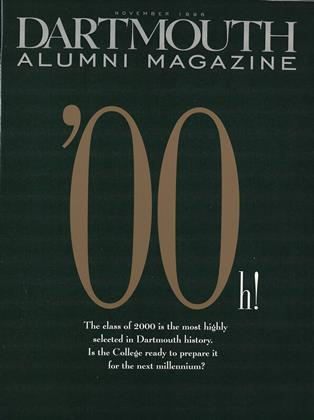 Cover for the November 1996 issue