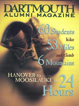 Cover for the November 1999 issue
