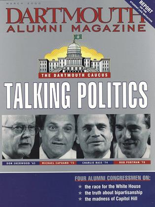 Cover for the March 2000 issue