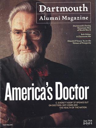 Cover for the January | February 2001 issue