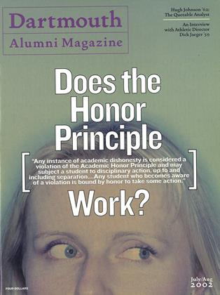 Cover for the July | August 2002 issue