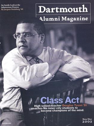 Cover for the November | December 2002 issue