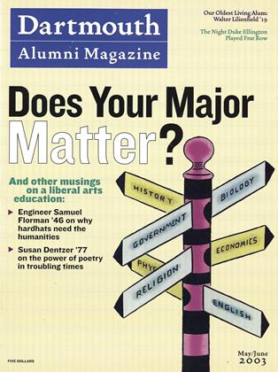 Cover for the May | June 2003 issue