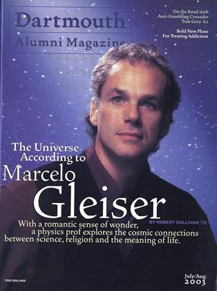 Cover for the July | August 2003 issue