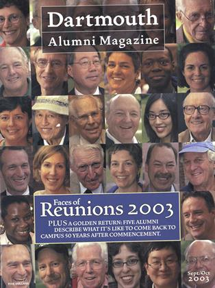 Cover for the September | October 2003 issue