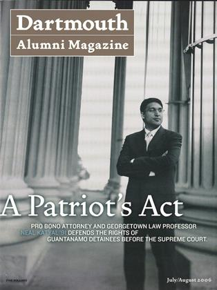 Cover for the July | August 2006 issue