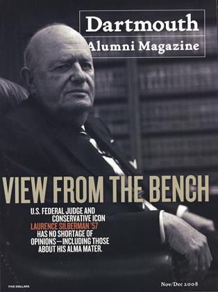 Cover for the November | December 2008 issue