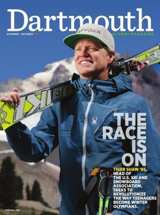 Cover for the November   December 2016 issue